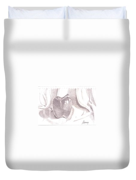 Teacher's Pet Duvet Cover by Rod Ismay