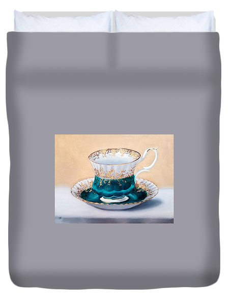 Teacup Duvet Cover