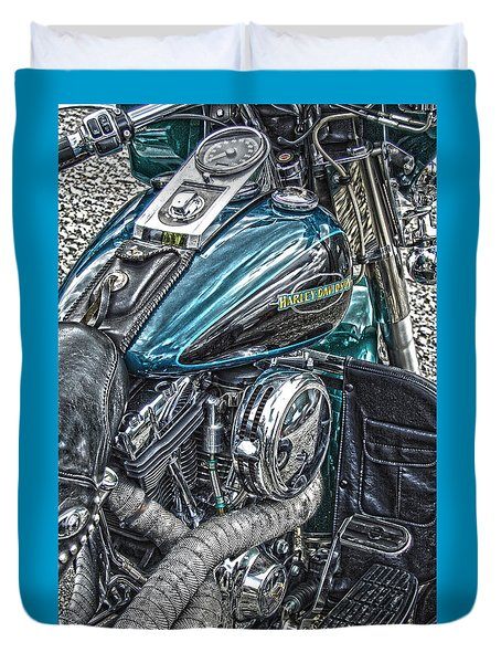 Teal Wonder Duvet Cover