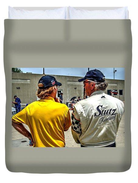 Team Stutz Duvet Cover