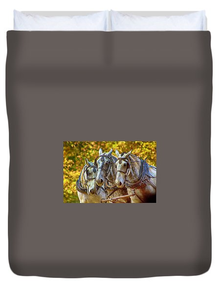 Teamwork Duvet Cover