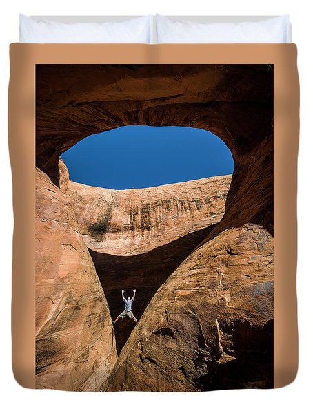 Teardrop Arch Duvet Cover