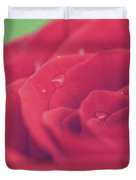 Tears Of Love Duvet Cover
