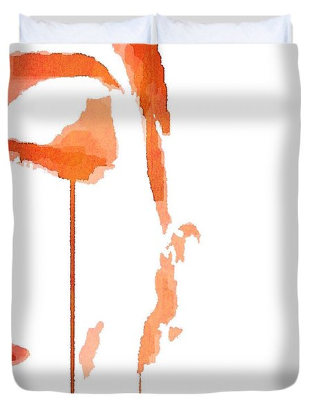 Tears Of Pain Duvet Cover by ISAW Gallery