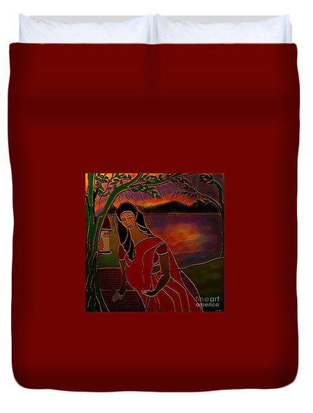 Tears Of Tamasa Duvet Cover