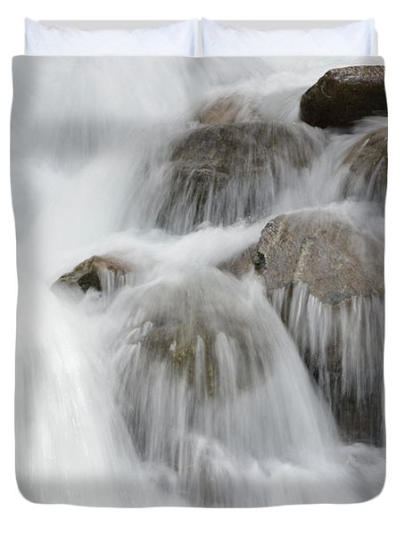 Tears Of The Mountain Duvet Cover