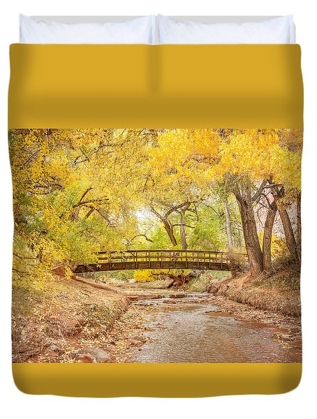 Teasdale Bridge Duvet Cover