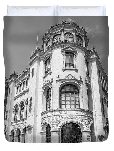 Teatro Colon Lima Duvet Cover