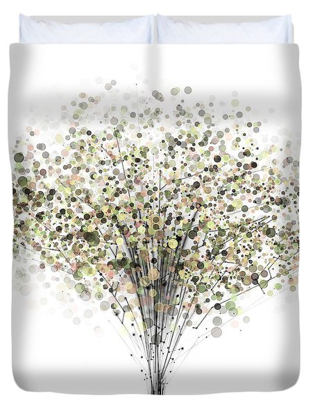 technology Abstract Duvet Cover