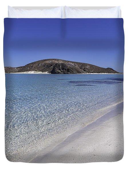Tecolote Beach Duvet Cover