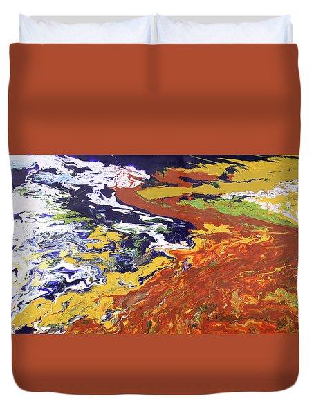 Tectonic Duvet Cover