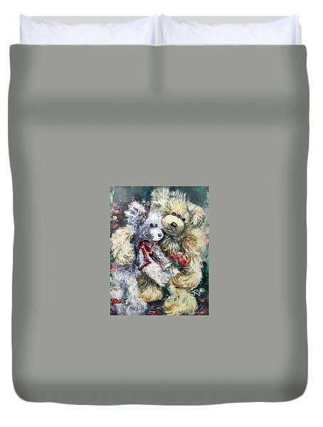 Teddy Bear Honeymooon Duvet Cover