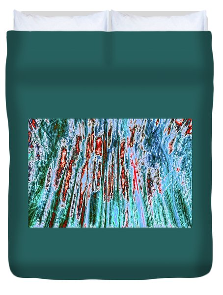 Duvet Cover featuring the photograph Teddy Bear's Picnic by Tony Beck