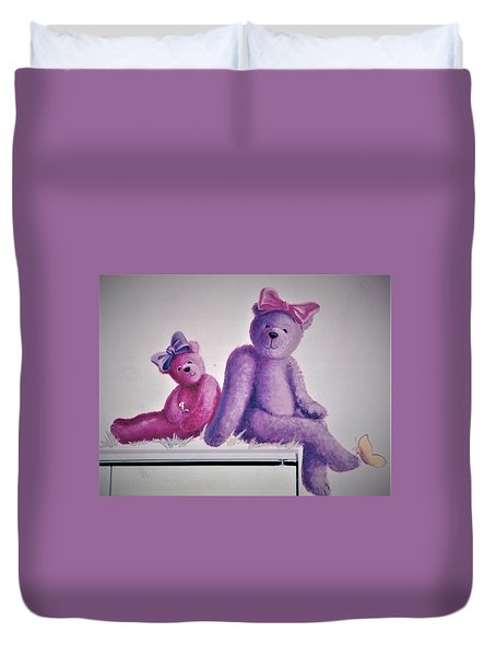 Teddy's Day Duvet Cover