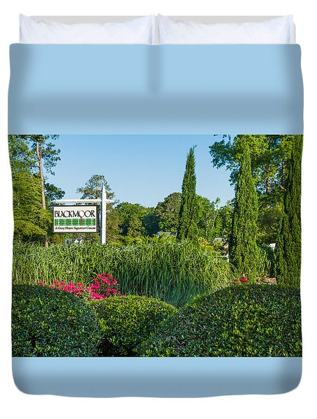 Tee Off Duvet Cover