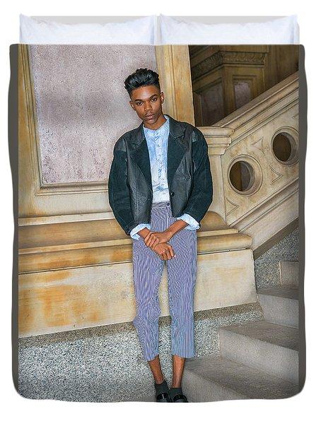 Teenage Boy Fashion 1504267 Duvet Cover