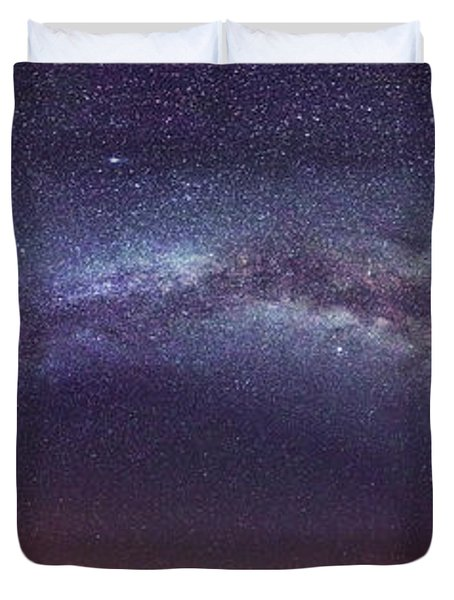 Teide Milky Way Duvet Cover