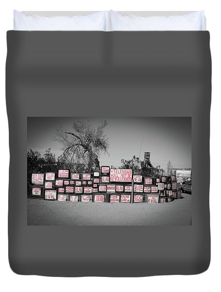 Television Duvet Cover