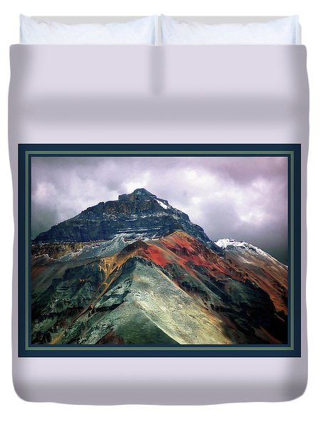Telluride Mountain Duvet Cover