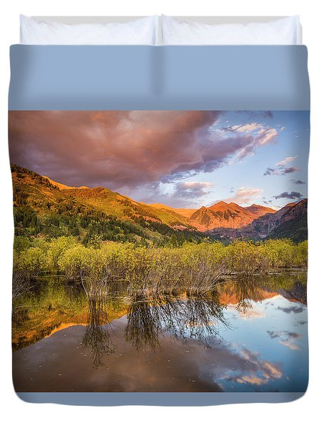 Telluride Valley Floor 2 Duvet Cover