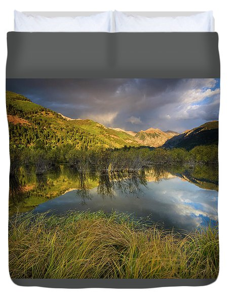Telluride Valley Floor Duvet Cover