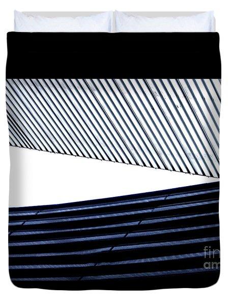 Tempe Art Center Roofline Duvet Cover