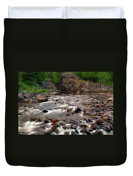 Temperance River Duvet Cover