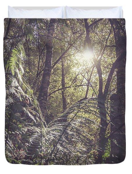 Temperate Rainforest Canopy Duvet Cover