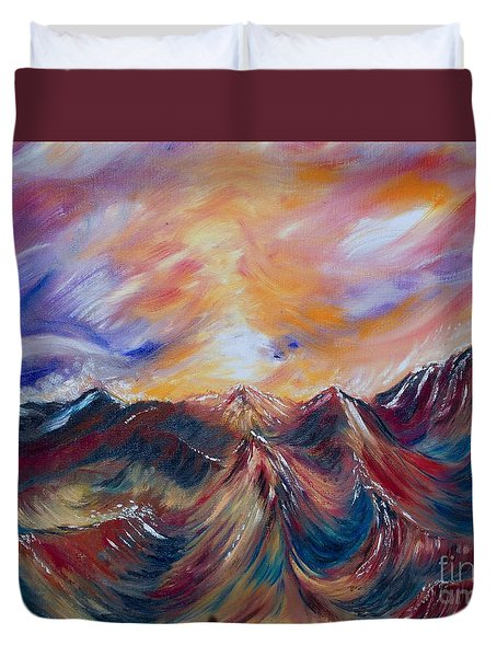 Tempest Tossed Duvet Cover