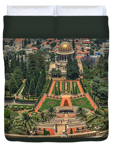 Temple 3 Duvet Cover