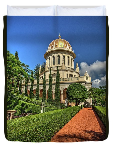 Temple 7 Duvet Cover