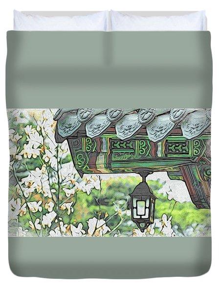 Temple Light Duvet Cover