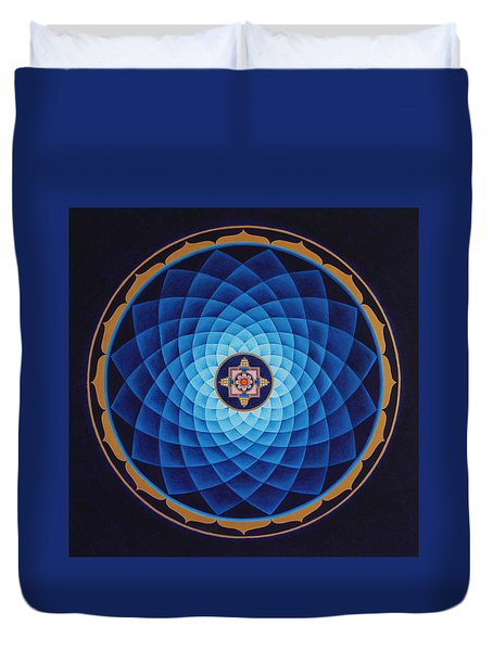 Temple Of Healing Duvet Cover