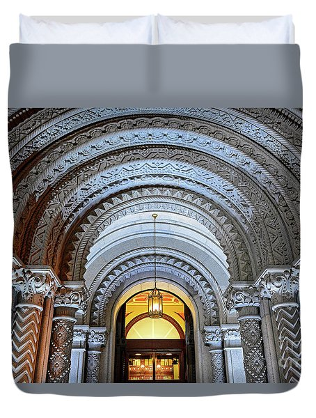 Temple Duvet Cover