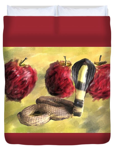 Temptation 3.0 Duvet Cover