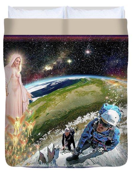 Temptation Of Saint Swarun Duvet Cover