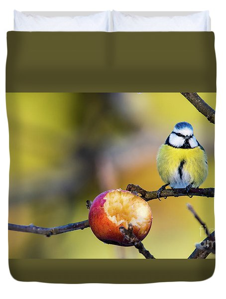 Duvet Cover featuring the photograph Tempting by Torbjorn Swenelius