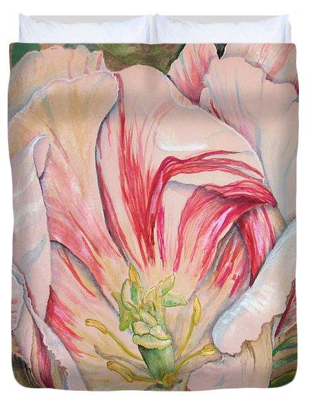 Tempting  Tulip Duvet Cover