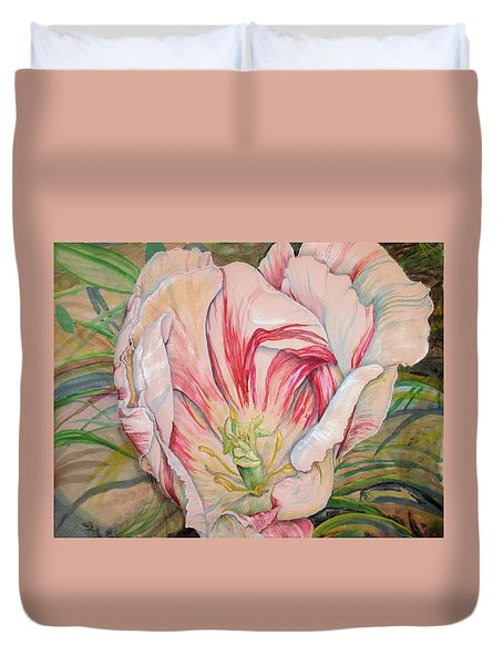 Tempting  Tulip Duvet Cover