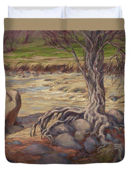 Tenacity Duvet Cover by Jane Thorpe