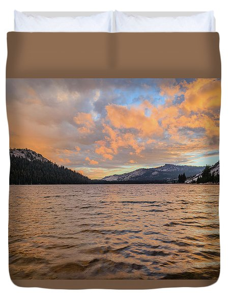 Tenaya Lake Duvet Cover