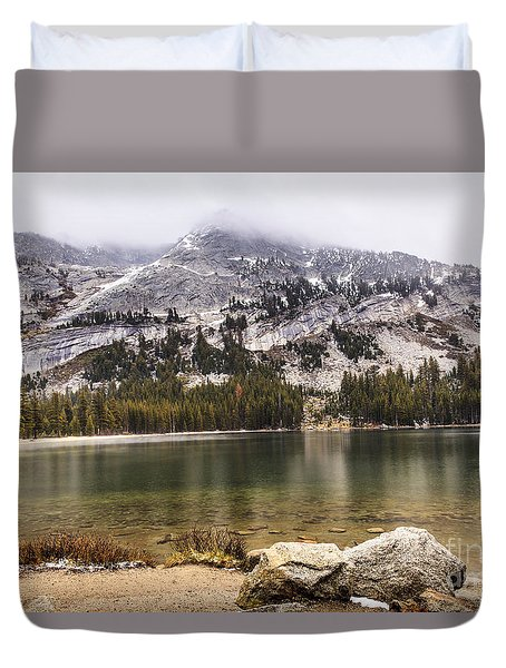 Tenaya Lake Yosemite 2 Duvet Cover