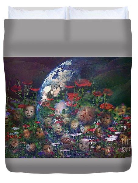 Tend This Garden 2015 Duvet Cover