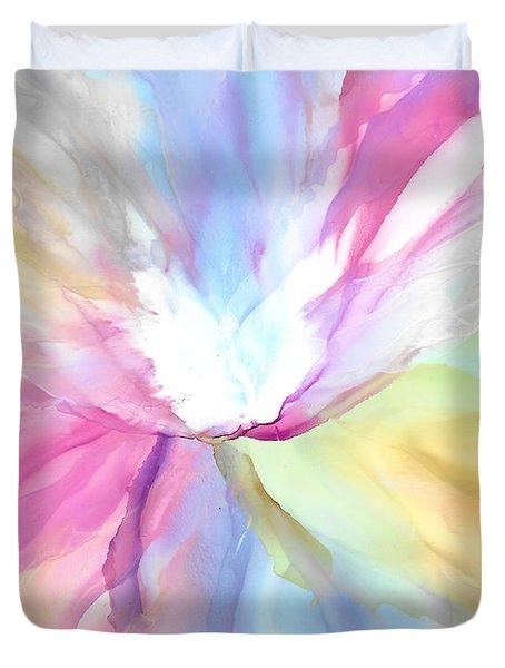 Tender Bloom Duvet Cover