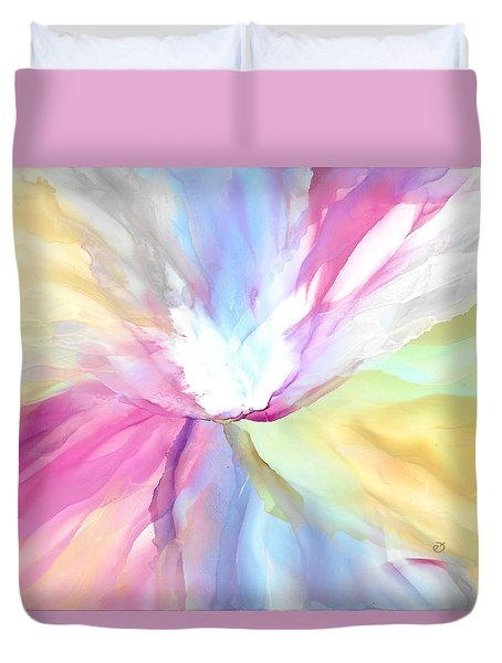 Tender Bloom Duvet Cover