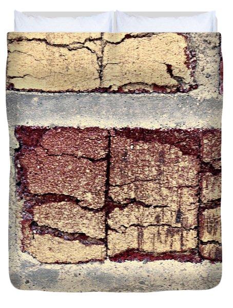 Tender Bricks Duvet Cover