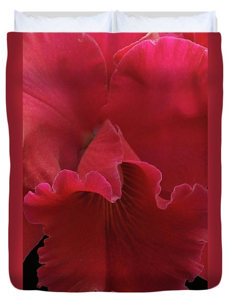 Tender Orchid Duvet Cover