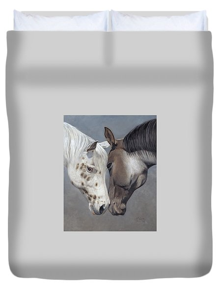 Tender Regard Duvet Cover