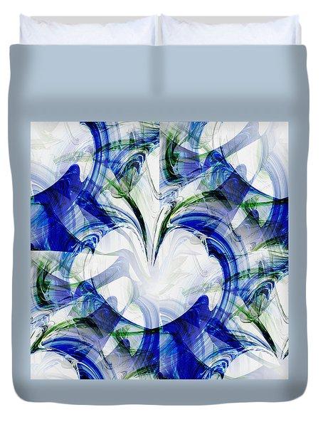 Duvet Cover featuring the digital art Tenderness by Kathleen Sartoris