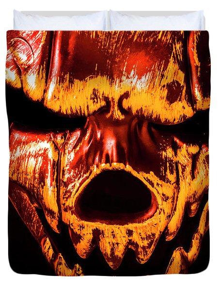Tendon Terror Duvet Cover